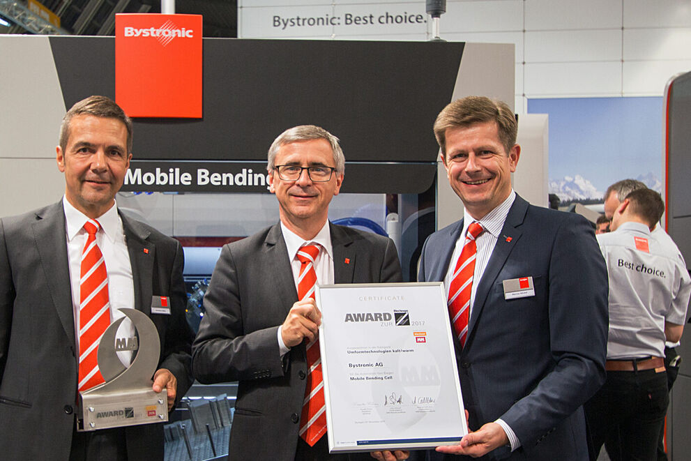 Blechexpo: Mobile Bending Cell pakt innovatieprijs